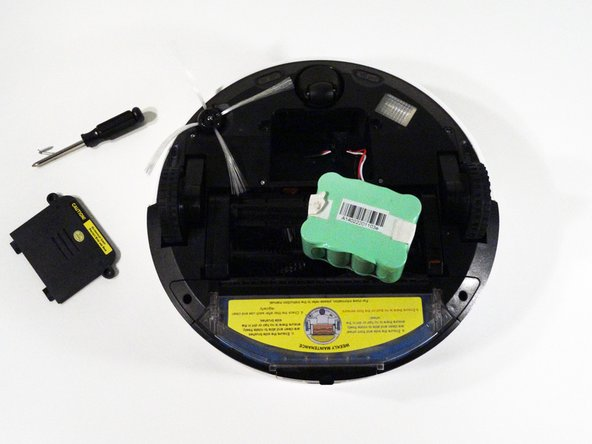 Installing the Battery for a bObi Robotic Vacuum
