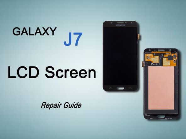 Samsung Galaxy J7 LCD Display (video) Replacement