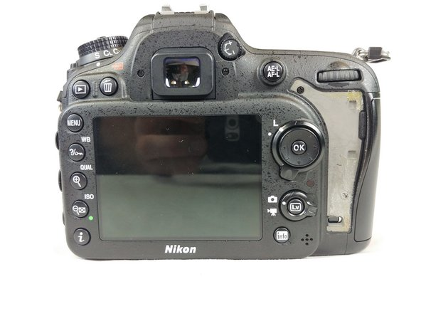 Nikon D7100 LCD Screen Replacement