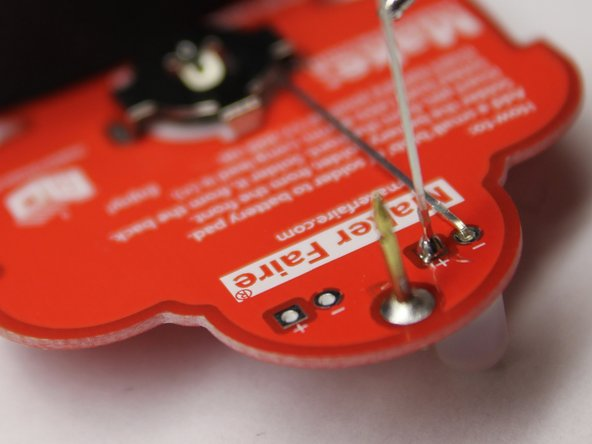 Once the junction is hot enough, add solder until the joint is strong enough.