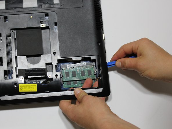 Lift the panel from the computer.