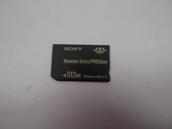 Sony Cybershot DSC-T5 SD Card Replacement