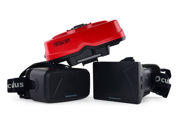 Image 2/3: Without warning, the forefather of VR headsets crashes the party—the [guide|3540|Virtual Boy|new_window=true].