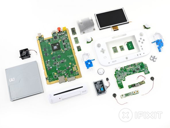 nintendo wii u teardown ifixit Iphone Wiring Diagram