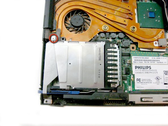 Remplacement du port Mini-PCI de l'IBM ThinkPad T42
