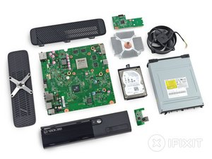 Xbox 360 e teardown ifixit ccuart Gallery