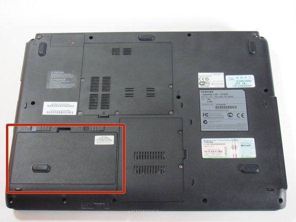 Toshiba Satellite L45-S7423 Battery Replacement