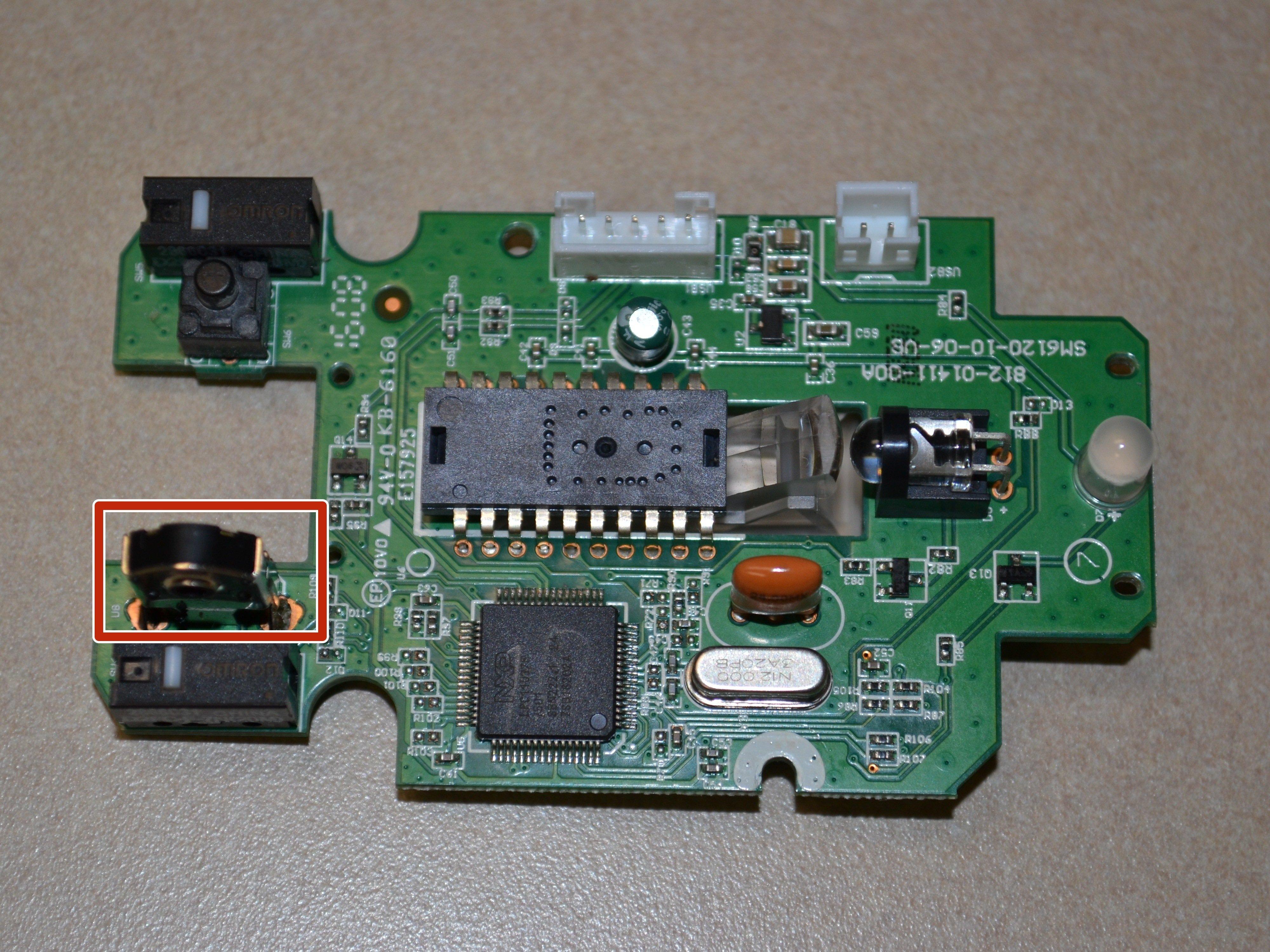 Corsair Katar Scroll Wheel Sensor - iFixit Repair Guide