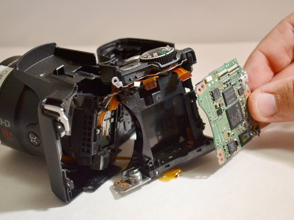Canon Powershot SX500 IS Motherboard Replacement