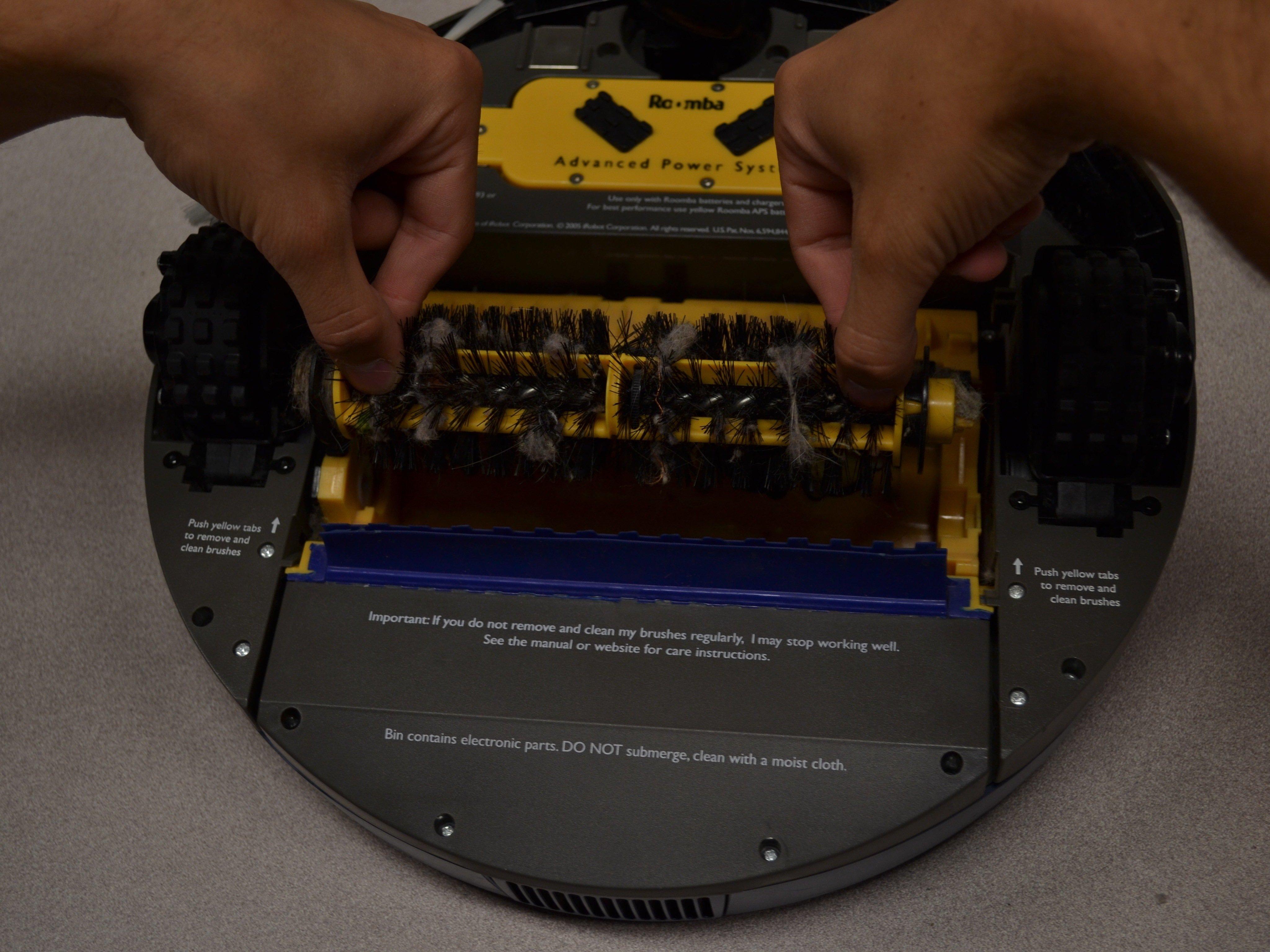 iRobot Roomba 4160 Brush Replacement - iFixit Repair Guide