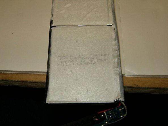 Here is once more the view of the imprint on the battery packs.