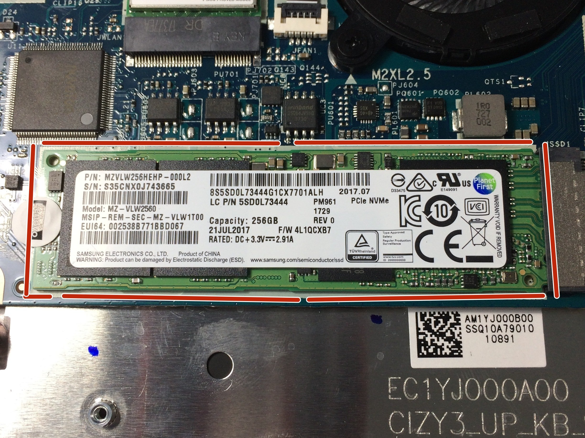 Lenovo Yoga 720 SSD Replacement - iFixit Repair Guide