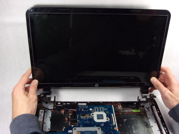 The screen can now be lifted out of place from the laptop.