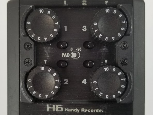Zoom H6 Handy Recorder Knob Replacement