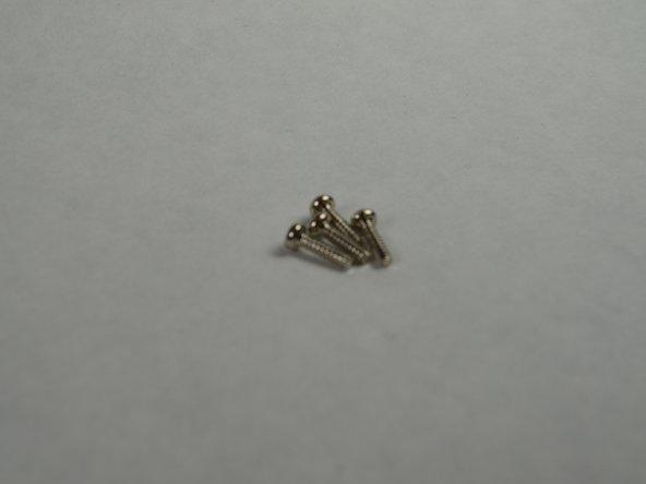 The four screws are each 0.9 cm long.