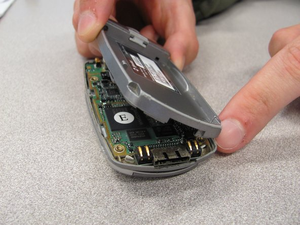 remplacement du boitier arrière du LG 1010