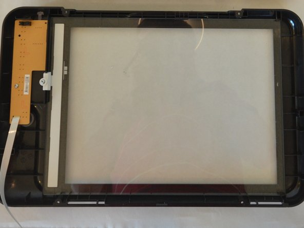 HP Deskjet F4480 Scanner Glass Replacement