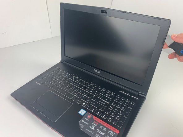 MSI GP62MVR 6RF Leopard Pro LCD Screen Replacement