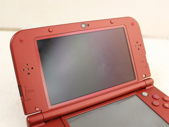 Nintendo 3DS XL 2015 Top Display Casing Replacement