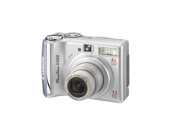 canon powershot a550 repair ifixit rh ifixit com Canon PowerShot A450 Canon PowerShot A590