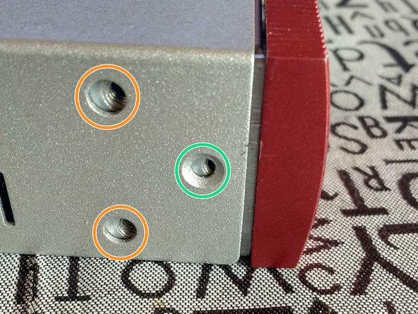 Frame kit for the rack (ears)