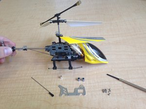 How to Repair Displaced Engine Gears in a Remote Controlled Helicopter