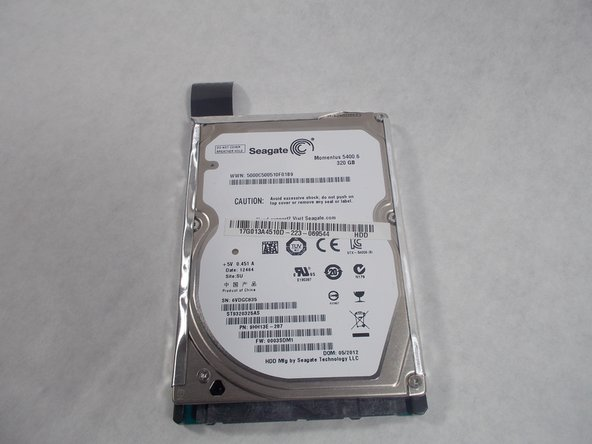 Asus A53U-ES21 Hard Drive Replacement