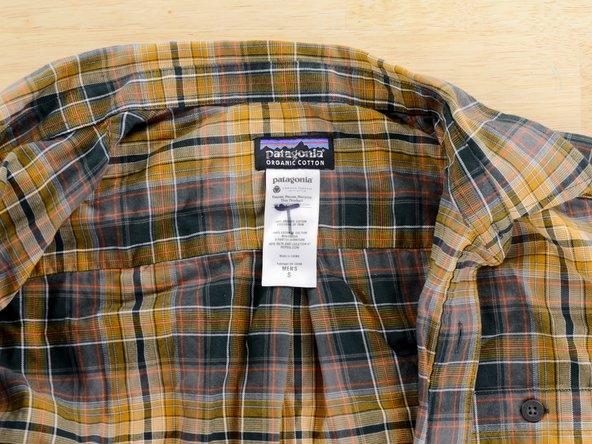 Come trovare il numero del modello su un capo di abbigliamento Patagonia