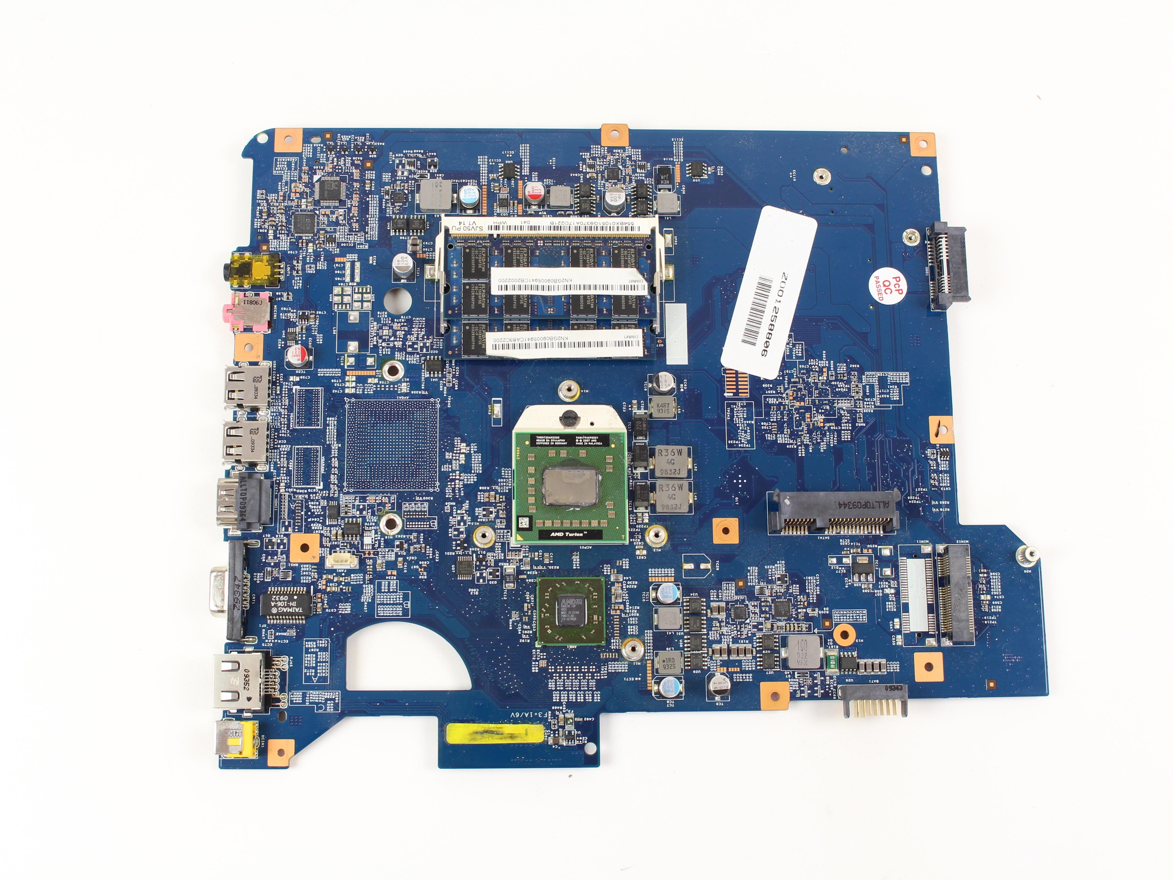 gateway nv52 motherboard replacement ifixit repair guide rh ifixit com Nv53a56u Gateway Laptop Laptops Gateway MS2285