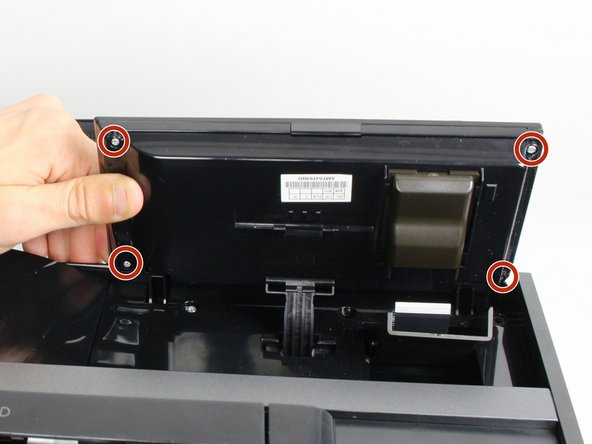 Remove the four 11mm T9-Torx screws on the underside of the display unit by rotating the screwdriver counter clockwise.