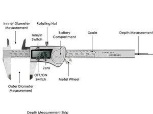 How to Position a Vernier Caliper