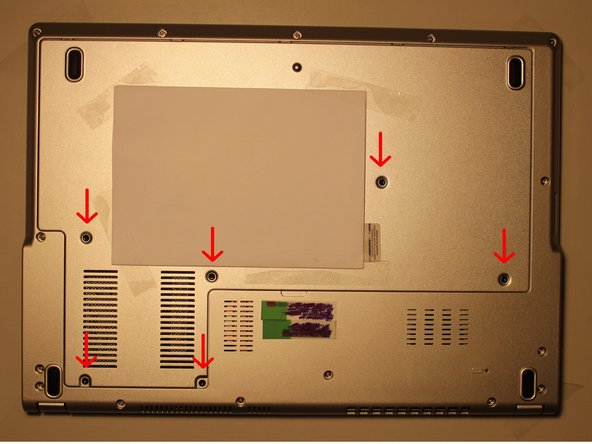 the battery/RAM/HDD door Replacement