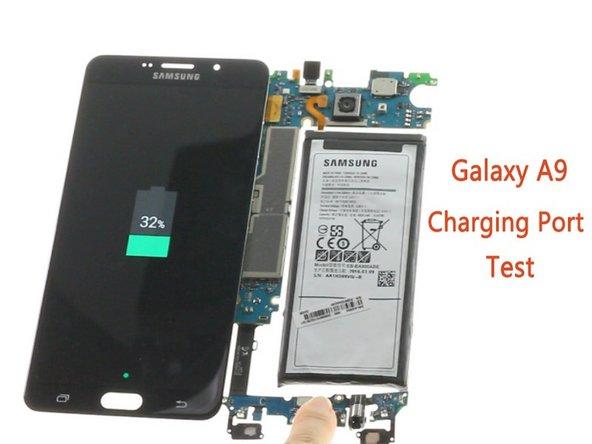 How to test Samsung Galaxy A9 USB Board?