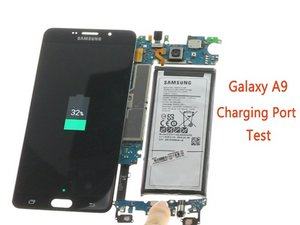 How to test Samsung Galaxy A9 USB Board?