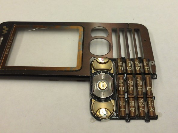SONY Ericsson W890i Keypad and Front Cover Replacement