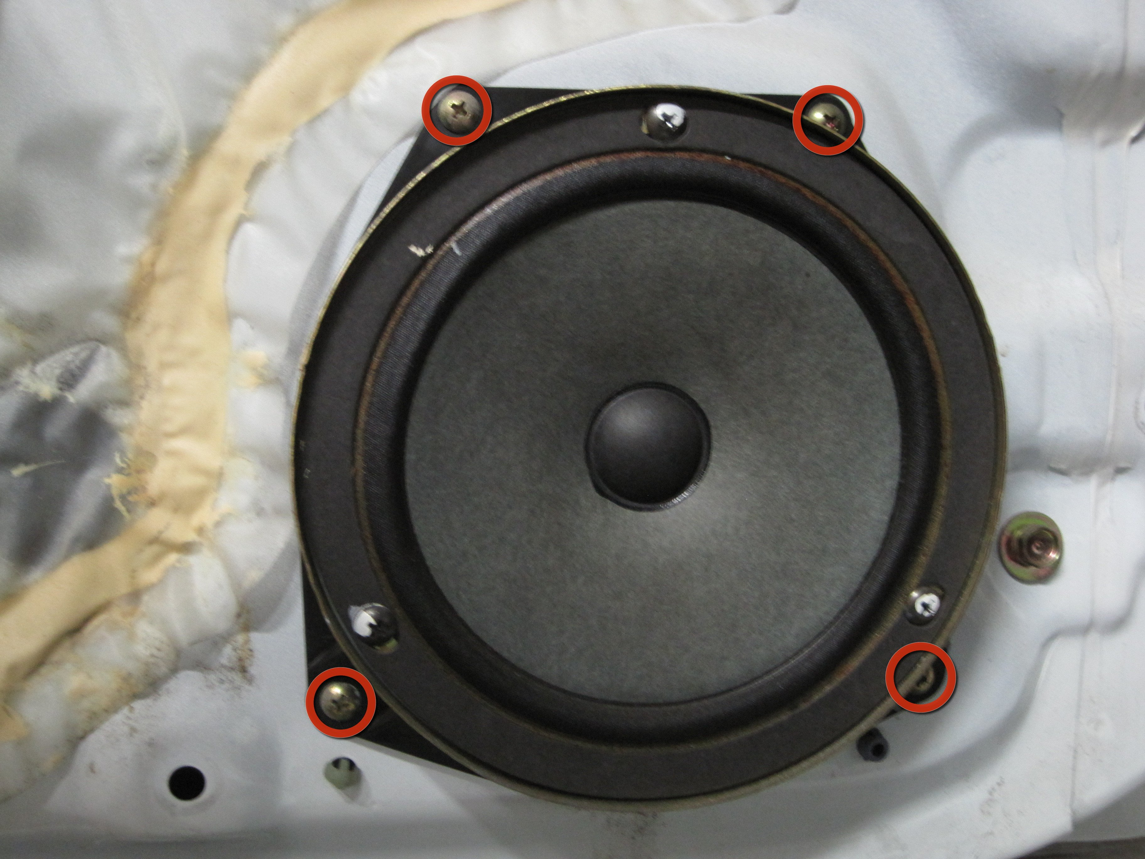 1994 2001 Acura Integra Front Speaker Replacement 1994 1995 1996 1997 1998 1999 2000 2001 Ifixit Repair Guide