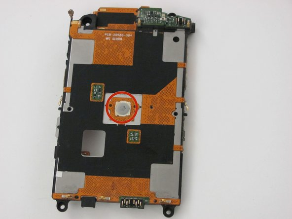 Blackberry Storm 9530 Screen Button Replacement