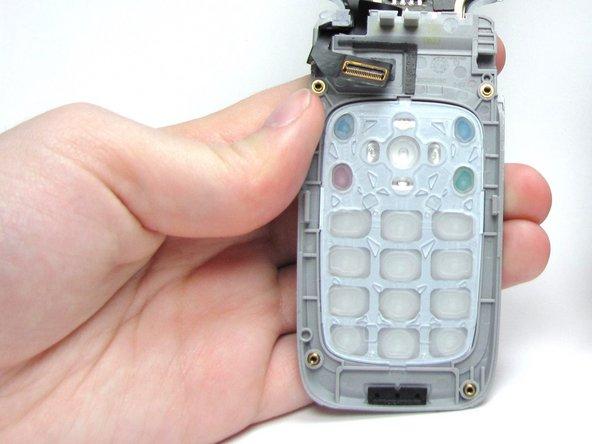 Démontage du clavier du Nokia 6086