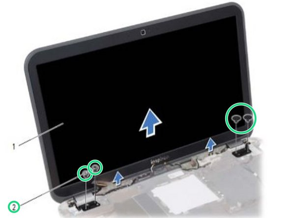 Dell Inspiron 15z 5523 Display Assembly Replacement
