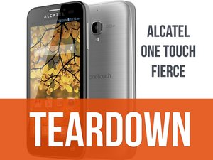 Alcatel One Touch Fierce Teardown