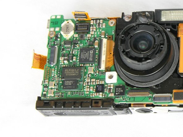 Canon PowerShot SD1000 Motherboard Replacement