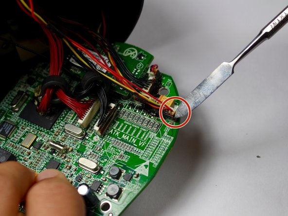 Image 1/1: Optional: Use electrical adhesive to prevent dislodging of new  wired connection.