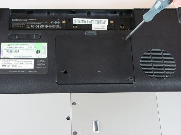 HP Pavilion dv5000 RAM Cover Replacement
