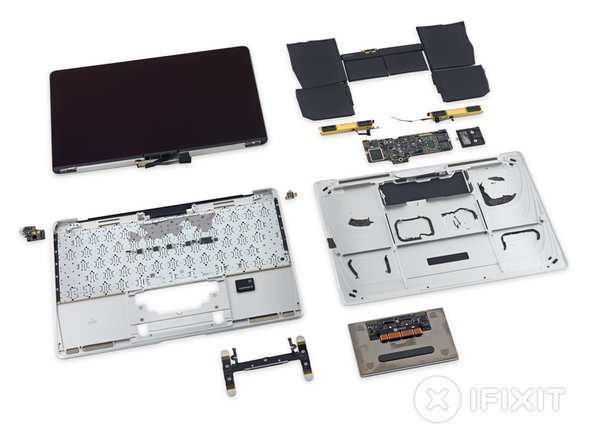 The MacBook 2015 Repairability Score: 1 out of 10 (10 is easiest to repair)