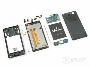 Vue éclatée du Wiko Pulp 4G