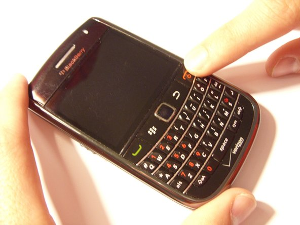 Blackberry Bold 9650 Powercycle