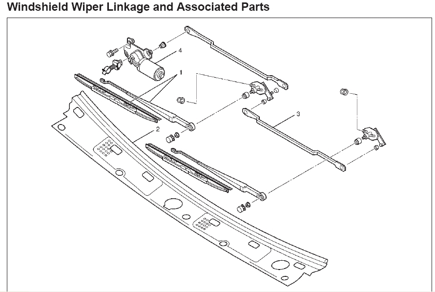 solved how do i replace the windshield wiper linkage in my 1999 rh ifixit com Isuzu Vehicross Isuzu Hombre