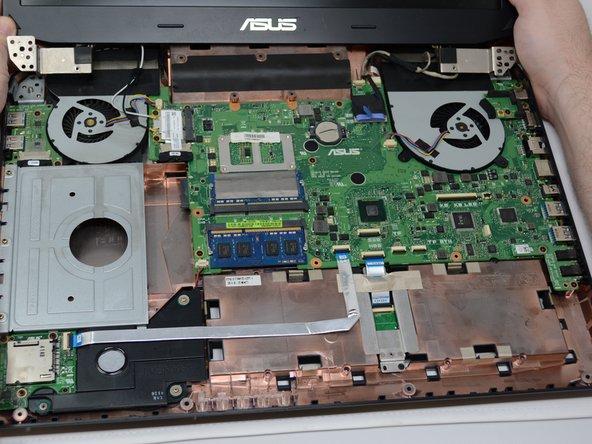 Asus ROG G750JM-BSI7N23 Motherboard Replacement