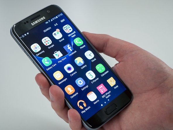 How to assembly Samsung Galaxy S7