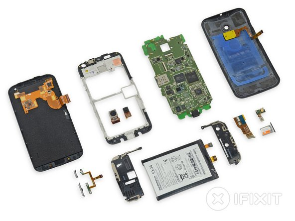 Motorola Moto X Repairability Score: 7 out of 10 (10 is easiest to repair)